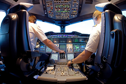 Bewerbung und Lebenslauf Vorlage als Pilot
