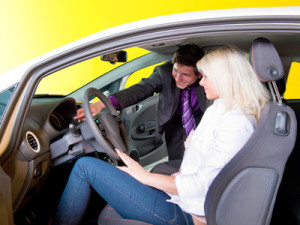 Bewerbung als Automobilverkäufer